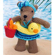 Beach Bear Rita by Michele Wilcox