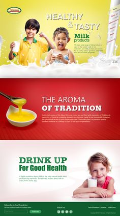 Thirumala Milk Products on Behance