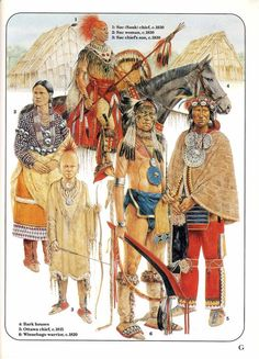 Osprey Men-at-Arms 228 - American Woodland Indians Native American Models, Native American Warrior, Native American Tribes, Native American History, Native Indian, Indian Art, Native Drawings, American Indian Wars, Woodland Indians
