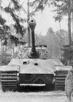 King Tiger Tank close up