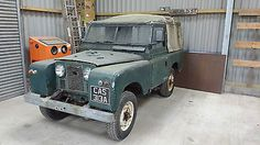 """Land Rover Series 2 88"""" project"""