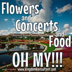 The Epcot Flower and Garden Festival is a great time to visit Walt Disney World in the Spring. #flowerandgarden #topiaries #epcot #springbreak