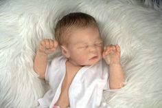 Reborn Baby From Quinlynn by Laura Lee Eagles