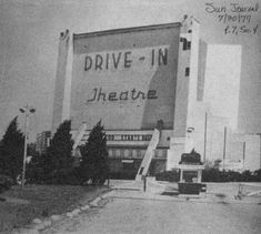 Ridge Road Drive-In, Griffith, IN - Photo from the Sun Journal newspaper. I copied this from the Hammond Public Library in Griffith Indiana, Hammond Indiana, Turkey Run State Park, Gary Indiana, Ridge Road, Drive In Theater, My Kind Of Town, Covered Bridges
