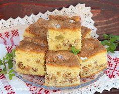 Prajitura Rapida - Desert De Casa.ro - Maria Popa Cornbread, Caramel, French Toast, Sandwiches, Breakfast, Ethnic Recipes, Food, Banana, Millet Bread