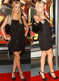 Paris Hilton showed up on the ruby carpet wearing this gem-studded purse. The body of the bag is made of soft black velvet with over 800 carat swarovski crystals twinkling on the shoulder strap, the Charm & Luck Capetown Purse.