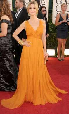 Kyra Sedgwick. The neckline is a little fussy, but other than that: perfect.