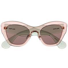 Deux façons de porter la #robe en #dentelle rose poudré - #rosepoudré #mode #style #tendance #été #lunettesdesoleil #miumiu