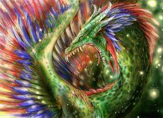 quetzalcoatl by quinnk.deviantart.com on @DeviantArt