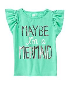 Maybe I'm A Mermaid Tee