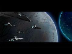 Fleet returning from deployment. Venator Star destroyer's