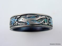 Soaring Bird Titanium Band