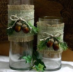 Home decoration with burlap                                                                                                                                                                                 More