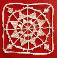 Reticello needle lace using Armilia Ars Methold