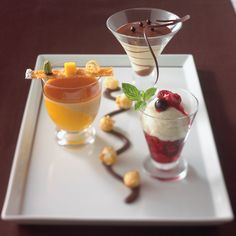 For #dessert, we recommend the Tuscan Panna Cotta. Which dessert will you eat first? #TuscanGrille