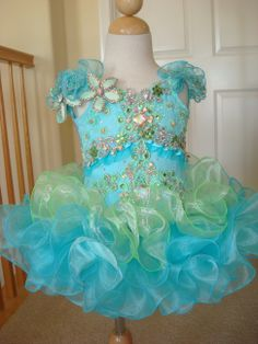 High Glitz Pageant Dresses For Pagent Dresses For Girls, Toddler Pageant Dresses, Glitz Pageant Dresses, Princess Tutu Dresses, Pageant Wear, Beauty Pageant, Little Girl Dresses, Pageants, Infants