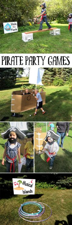 Pirate Party Games on Love The Day