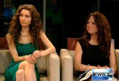 """Alicia Minshew & Sonia Blangiardo Talk Tainted Dreams & All My Children on WFAA-TV's """"Daybreak"""" in Dallas."""