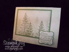 Lovely as a Tree Inspirational Greeting Cards
