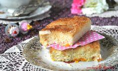 Buttermilchkuchen mit Mandarinen und Kokos