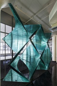 Cristina Parreño Investigates the Tectonics of Transparency With Glass Wall Prototype  © Jane Messinger