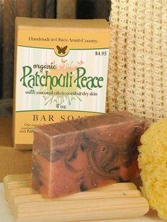 Patchouli Soap ~ All Natural Handmade 3.5oz