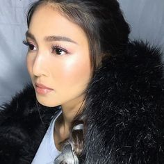 Wow!! SLAY QUEEN ❤️ Caption :Tonight's effortless beauty @nadzlustre • Wearing only Pure Radiant Tinted Moisturizer on the skin, NARS Sheer Pop on the lids and highlights for the overall dewy skin finish • Styled by @joannagee @bettinabanez • Hair @paulnebres • #makeupbyjellyeugenio #NARS #narsissist jelly #teamreal #JamesReid #NadineLustre #JaDine #JaDineFusion2017