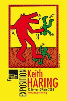 Exposition Keith Haring - Musée Art Contemporain de Lyon - 2008 - Photo : Musée…