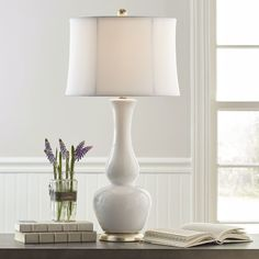 Found it at Wayfair - Table Lamp with Drum Shade