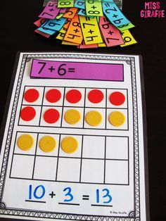 Making a 10 to Add is a great way for students to solve addition problems to 20.. Read for a bunch of tips of how to get them there