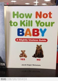 Hahaha! I want to buy this book for the next baby shower I attend- too funny!