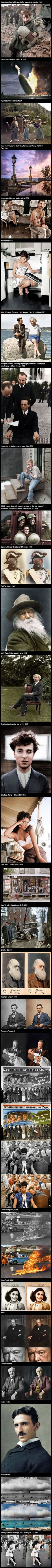 29 Colorized Historical Photos That Make The Past Seem Not So Far Away