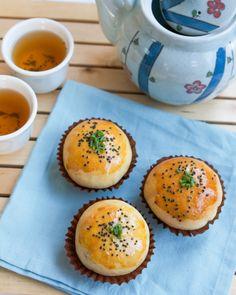 Dim Sum Recipe #2: Honeyed Pork Buns (Baked Char Siu Bao) | Thirsty for Tea