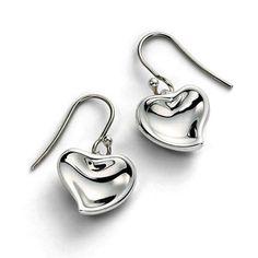 Tiffany Elsa Peretti Heart Earrings