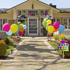 Graduation Party Walkway ~ Party City