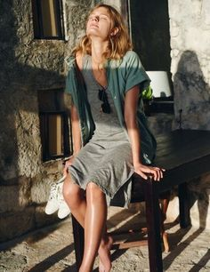 Look Fashion, Daily Fashion, Fashion Spring, Vacation Outfits, Summer Outfits, Looks Style, My Style, Daily Style, Vogue
