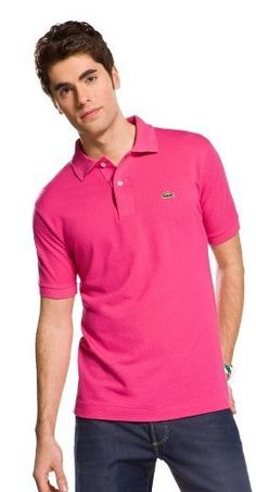ddd08f7bd ralph lauren outlet uk Lacoste Classic Short Sleeve Men's Polo Shirt Pink  Red http:/
