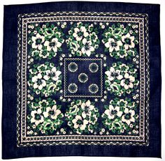 Big thanks to Sanforized for the heads up on this oversea's collection of bandana's, plenty more here. Western Theme, Western Style, Vintage Bandana, Bandana Scarf, Scarf Design, Vintage Textiles, Girl Gang, Textile Patterns, Vintage Floral