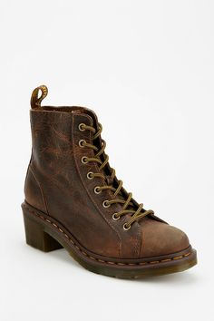 Dr. Martens Alexis Heeled 8-Eye Boot - Urban Outfitters