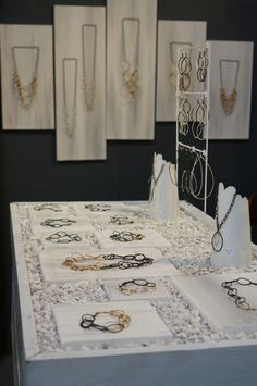 Megan Auman Buyers jewelry Market booth