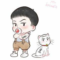 "Is this ""my Catman"" chibi? 😍😍😍"