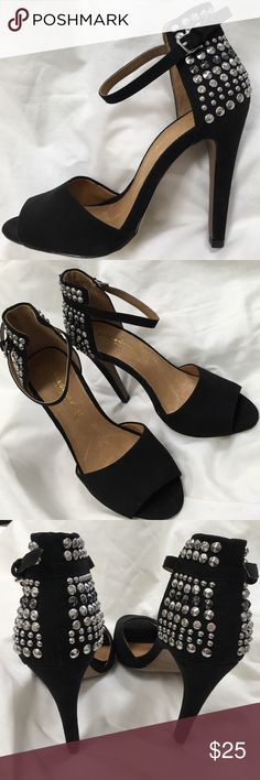 vera pelle primadonna collection Black Stud Heels These heels are in great condition.  They are perfect for a night out!  They were very gently loved. vera pelle Shoes Heels
