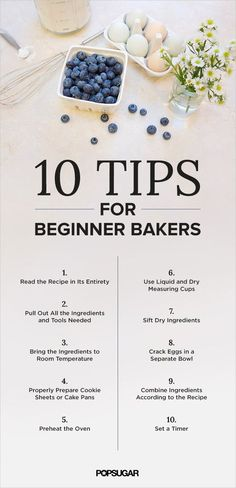 Have little faith in your baking skills? Read this before attempting cookies and cakes!