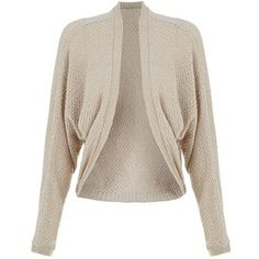 Apricot Stone Waffle Textured Cocoon Cardigan