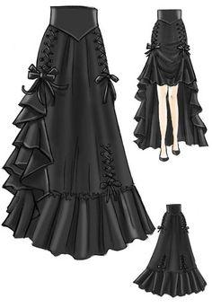 Black 3 Way Skirt