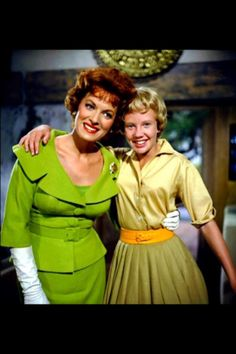 Maureen O Hara & Hayley Mills in The Parent Trap