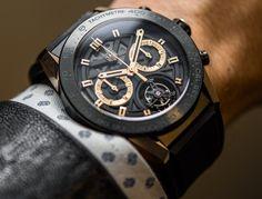 TAG Heuer Carrera Heuer-02T $15,000 Tourbillon Chronograph Watch Hands-On   aBlogtoWatch