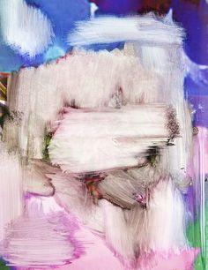Untitled (Vogue painting) - Egon van Herreweghe