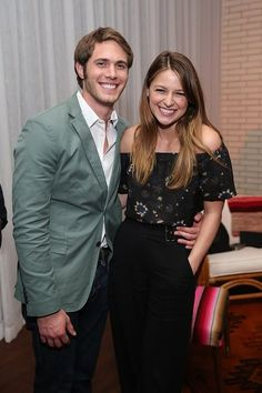 Blake Jenner and Melissa Benoist attend the 'Everybody Wants Some' after party