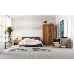 Authentico Bett 160x200cm - Schlafzimmer - KARE Design Kare Design, Cosmopolitan, Valet Stand, Entryway Bench, Decoration, Ornaments, Bedroom, Wood, Furniture